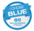 Blue Cross and Blue Shield of Montana - I Chose Blue banner