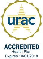 URAC Accredited Commercial Health Plan